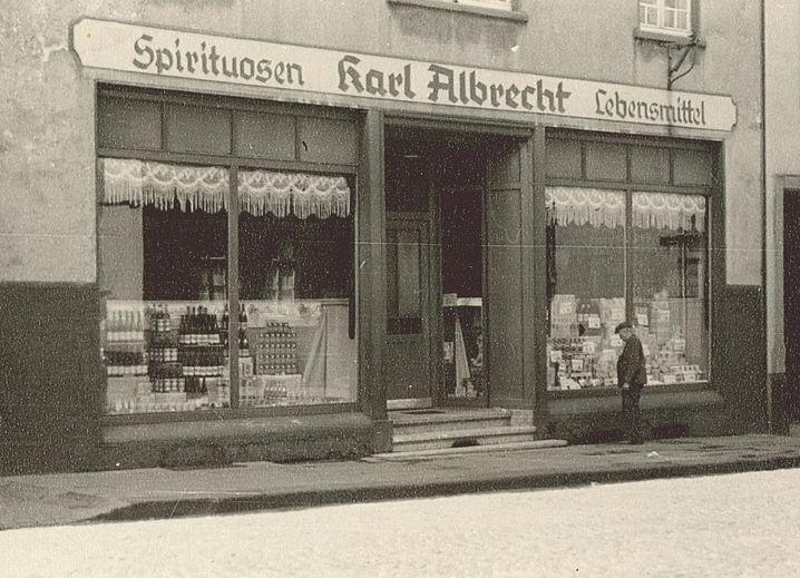 Die Filiale in der Huestraße 89 in Essen-Schonnebeck im Jahr 1930