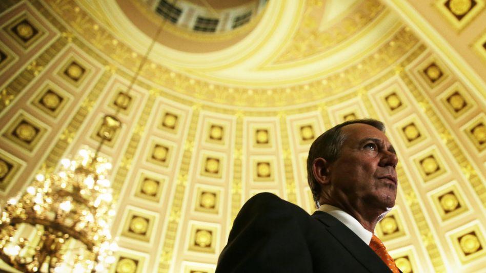 """US-Oppositionsführer Boehner: """"Wir sagen Bescheid"""""""