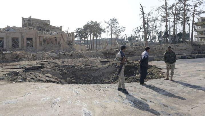 Afghanistan: Anschlag auf deutsches Konsulat