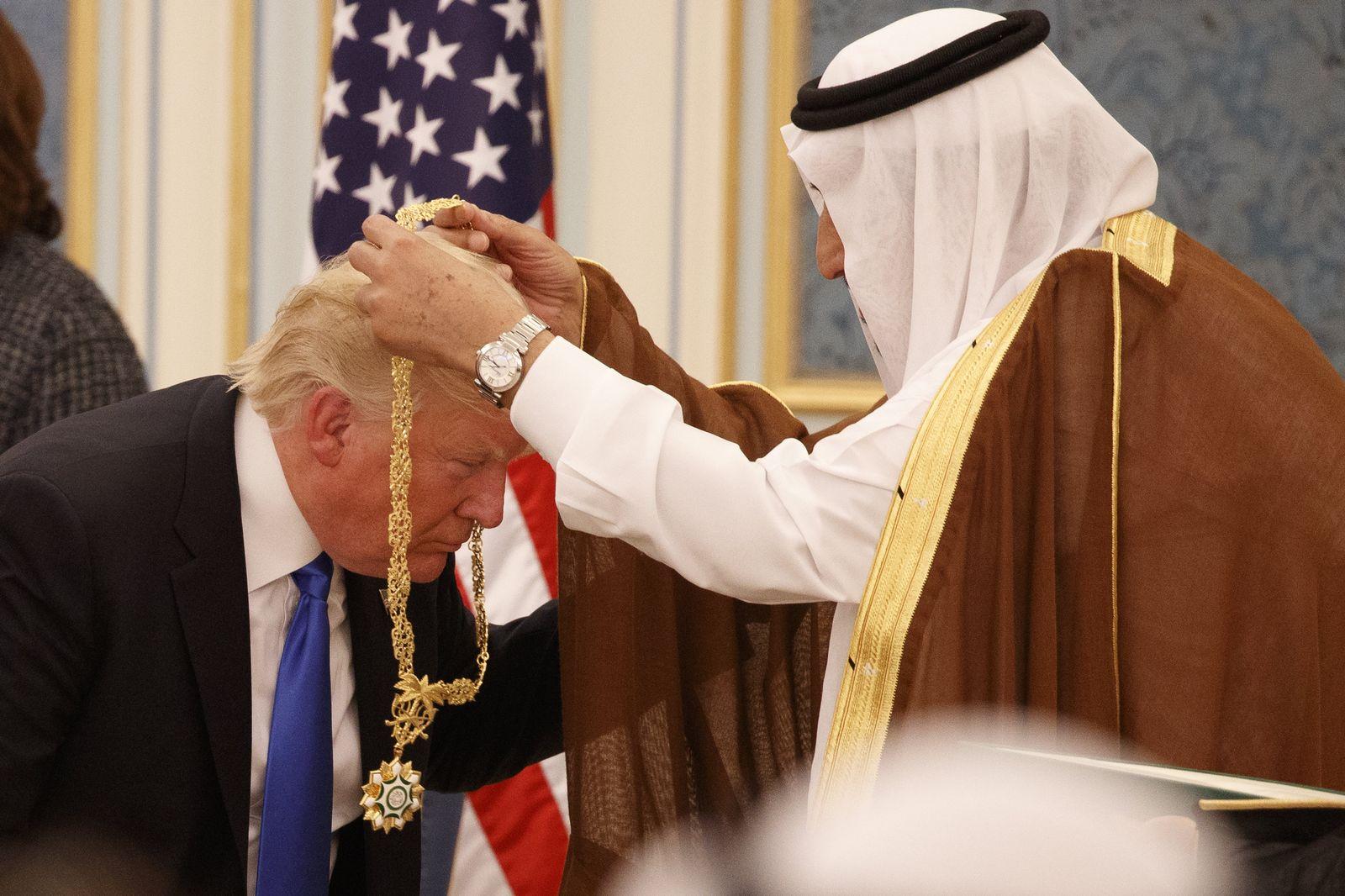 Donald Trump / Reise / Saudi-Arabien