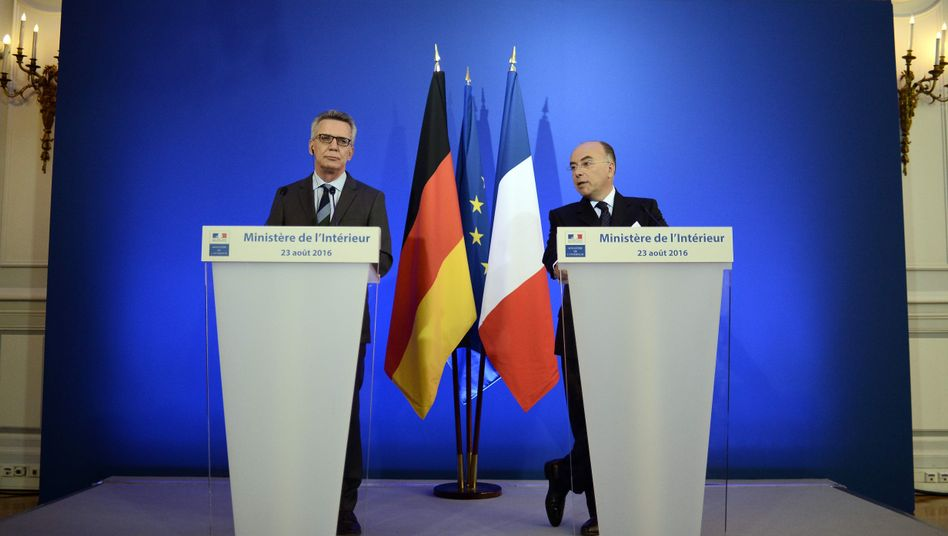 Innenminister-Treffen in Paris