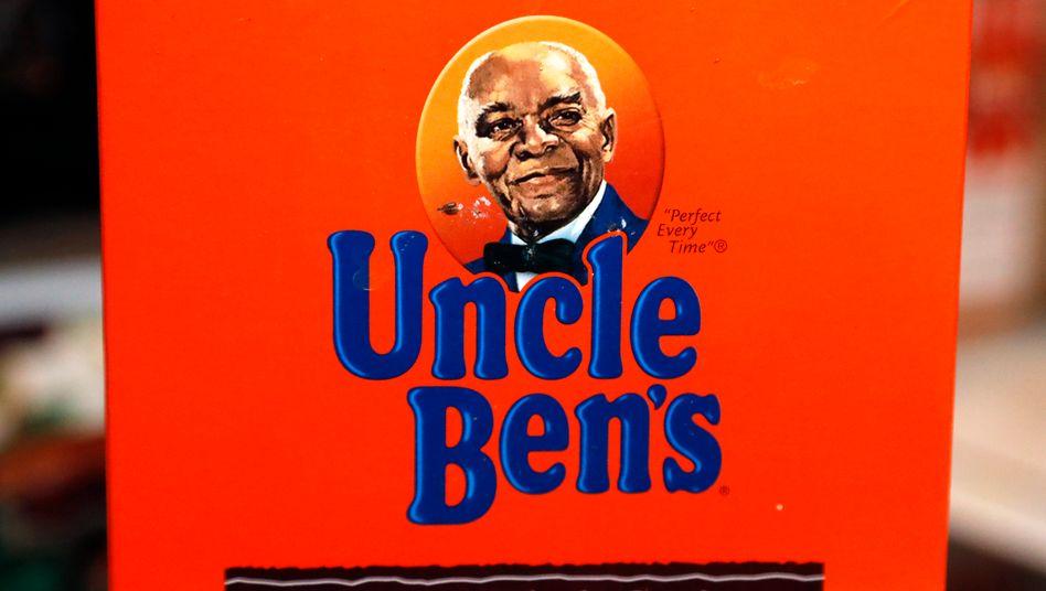 Ab 2021 nicht mehr auf den Produkten: Logo des Uncle-Ben's-Reises, das von Kritikern als stereotypisierend aufgefasst wird