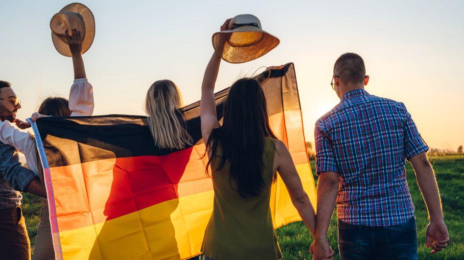 Zum Schulabschluss wird es in Deutschland auch weiter keine Nationalflagge geben (Symbolbild)