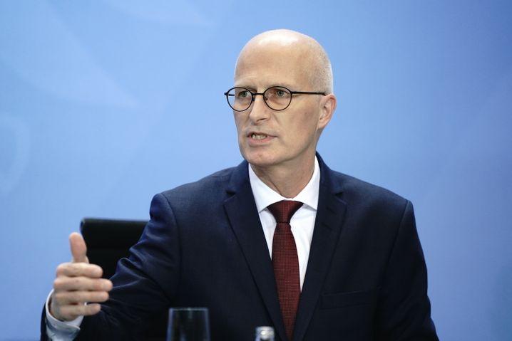 Hamburgs Erster Bürgermeister Tschentscher