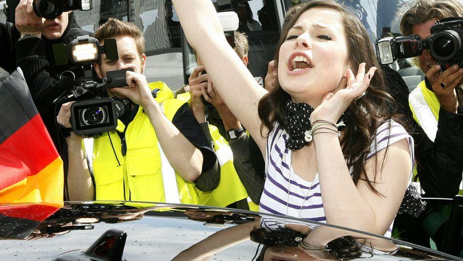 Lenas Rückkehr: Hannover feiert das Grand-Prix-Girl