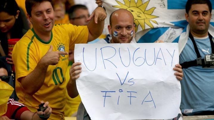 Kolumbien gegen Uruguay: Der doppelte James