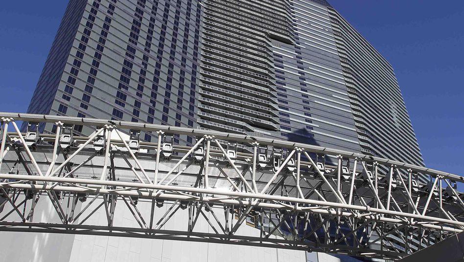 "Luxus-Casinohotel ""Cosmopolitan"" in Las Vegas: Eigentum der Deutschen Bank"