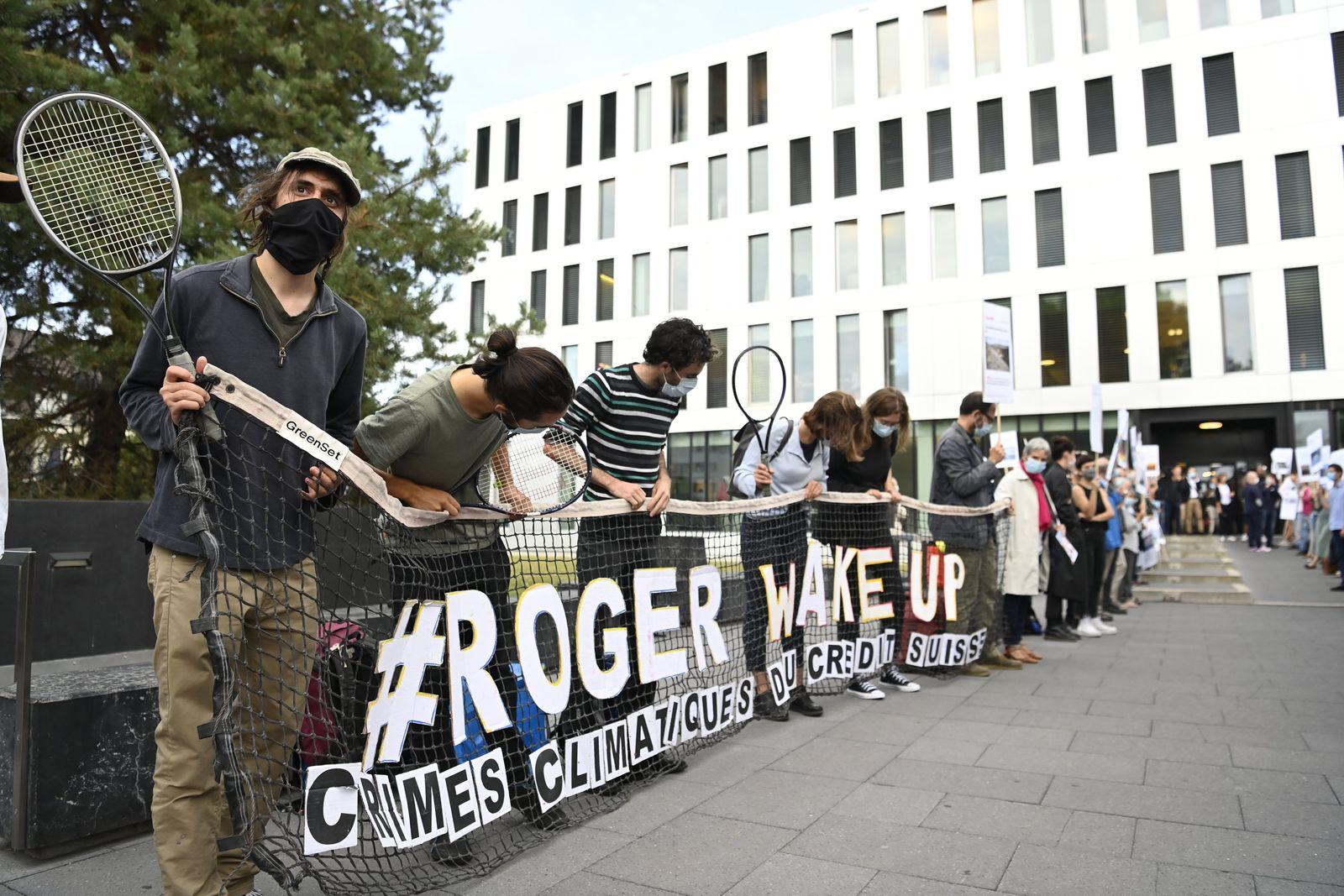 Klimaprotest in der Schweiz