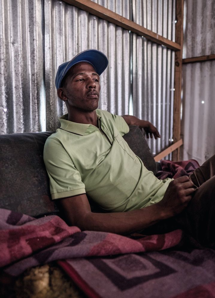 Thembalethu has even resorted to theft and muggings to keep his family fed.