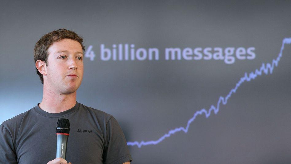 Mark Zuckerberg: Der Facebook-Boss erklärt das Netz