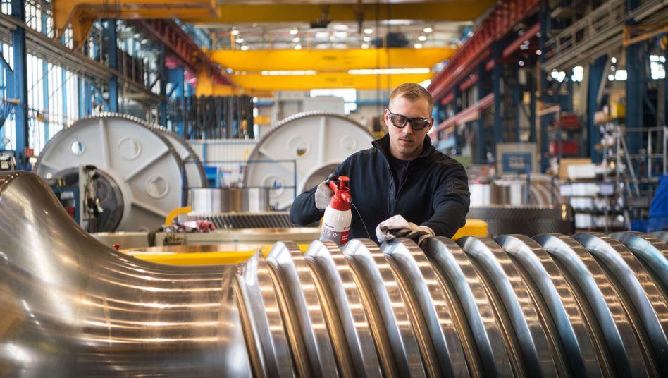 Deutscher Maschinenbau (Symbolbild)