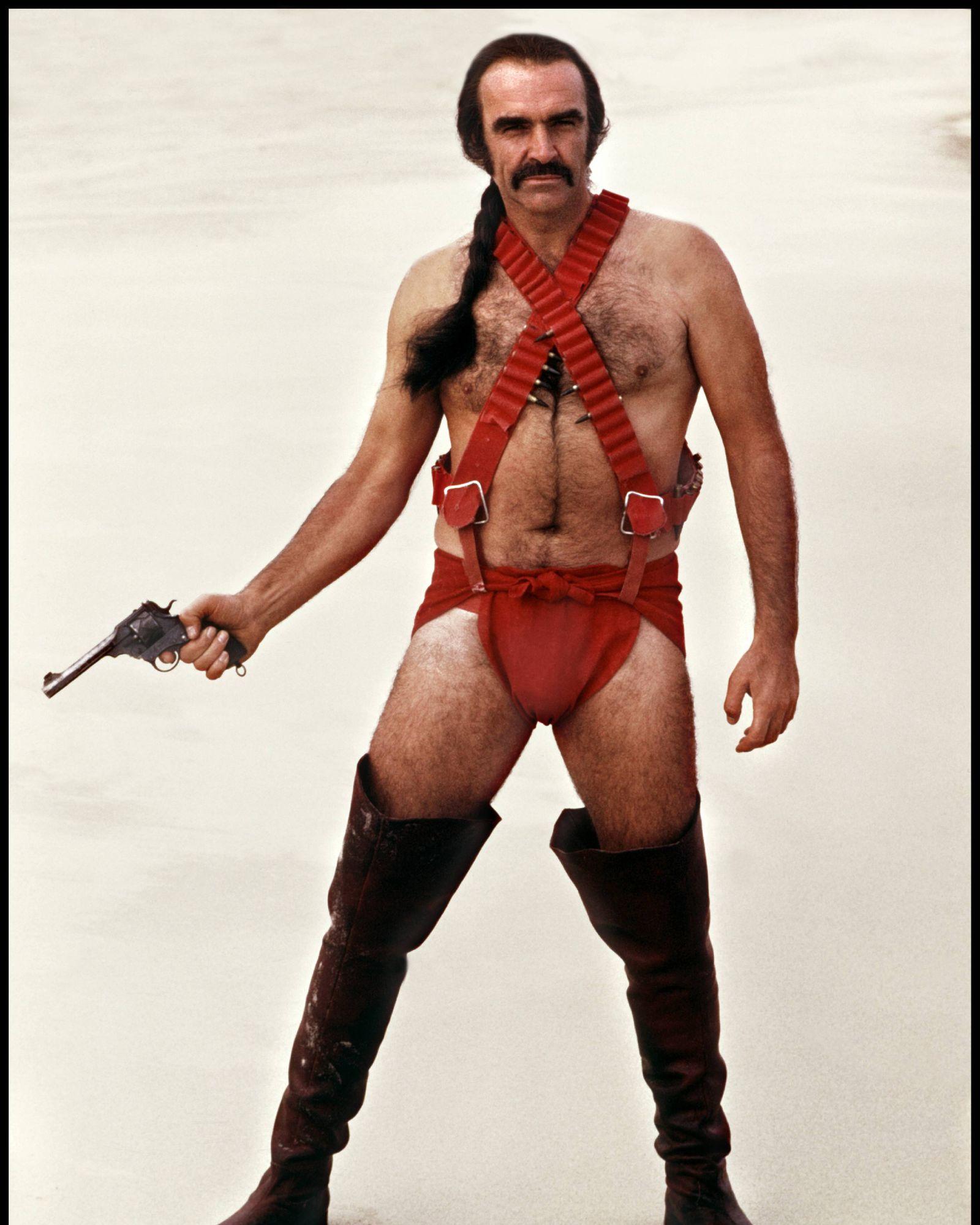 20th Century Fox DR ZARDOZ ZARDOZ de John Boorman 1973 GB avec Sean Connery homme velu poilu