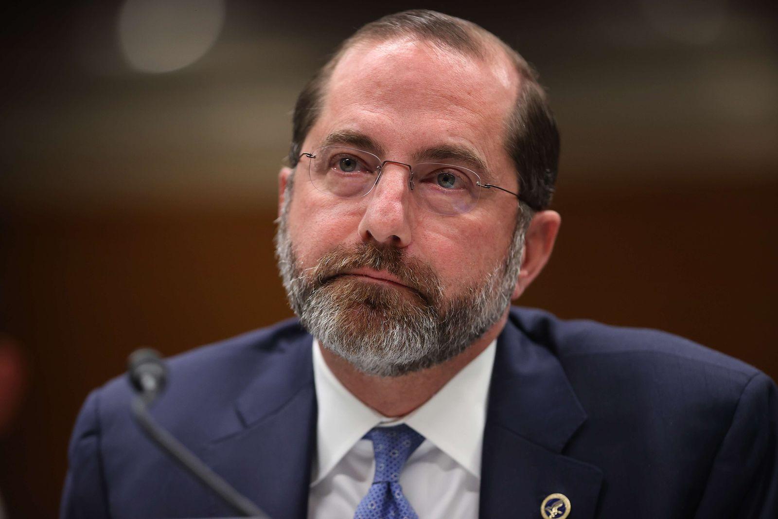 HHS Secretary Alex Azar Testifies Before Senate Appropriations Committee