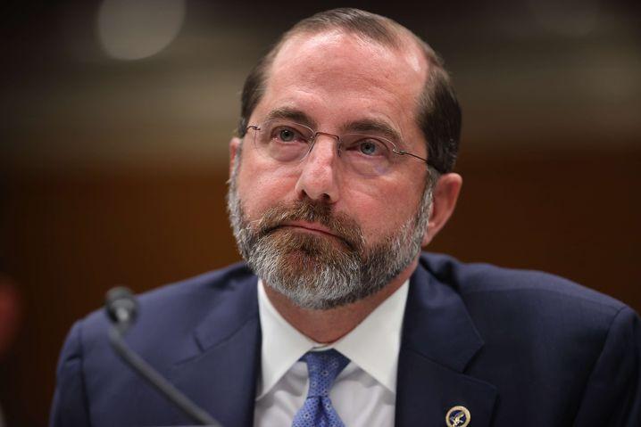"""Gesundheitsminister Alex Azar: """"Wir können die Vereinigten Staaten nicht hermetisch abriegeln"""""""