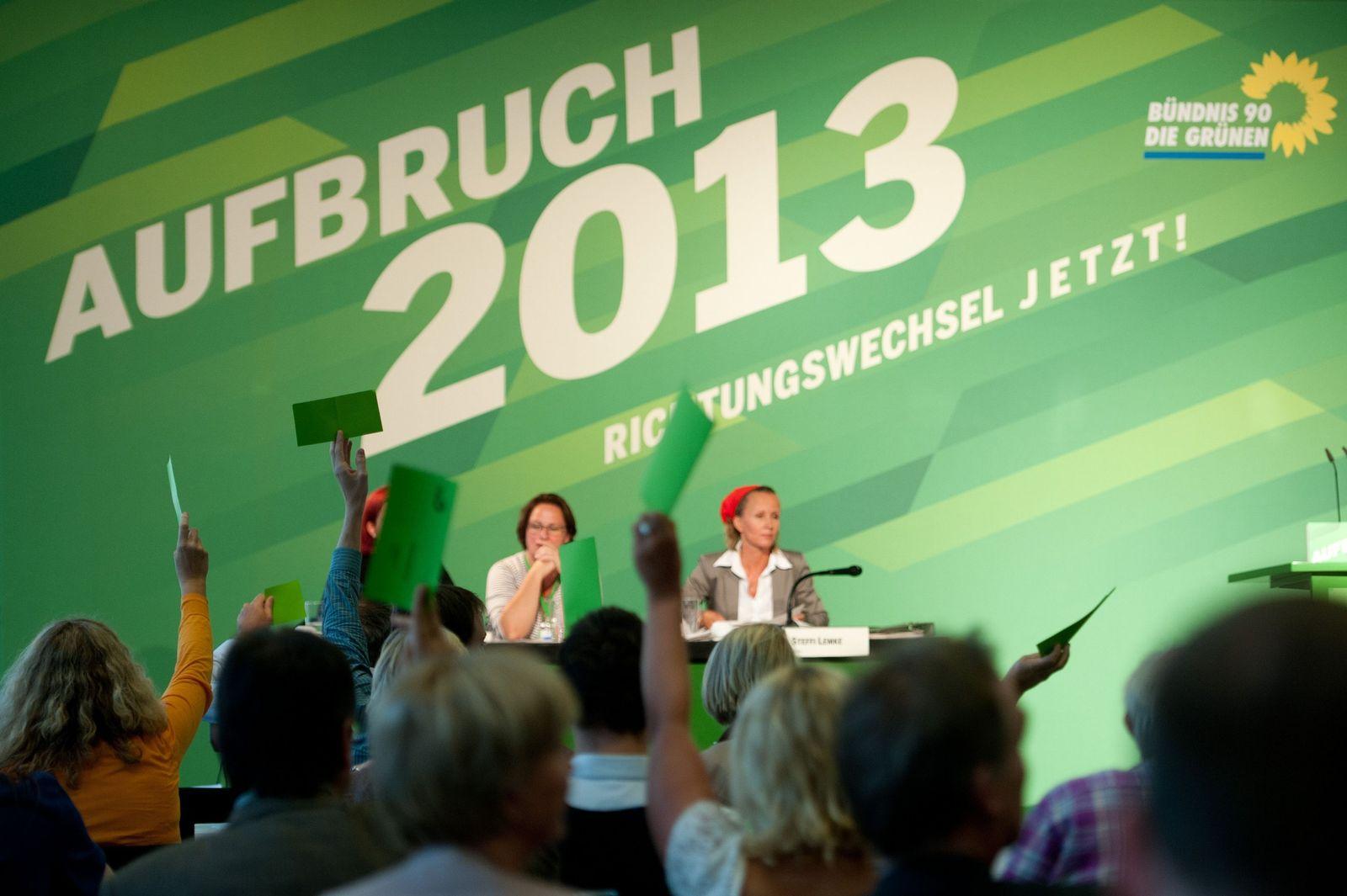 Sonderparteitag der Grünen