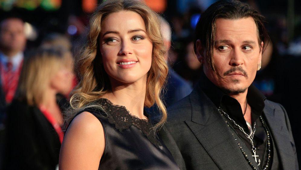 Johnny Depp und Amber Heard: Geschiedene Leute