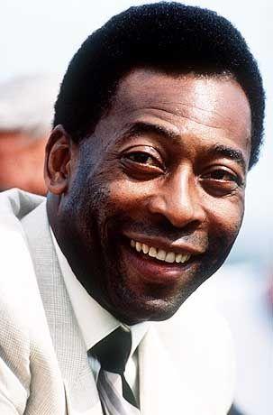 Eine Legende: Pelé