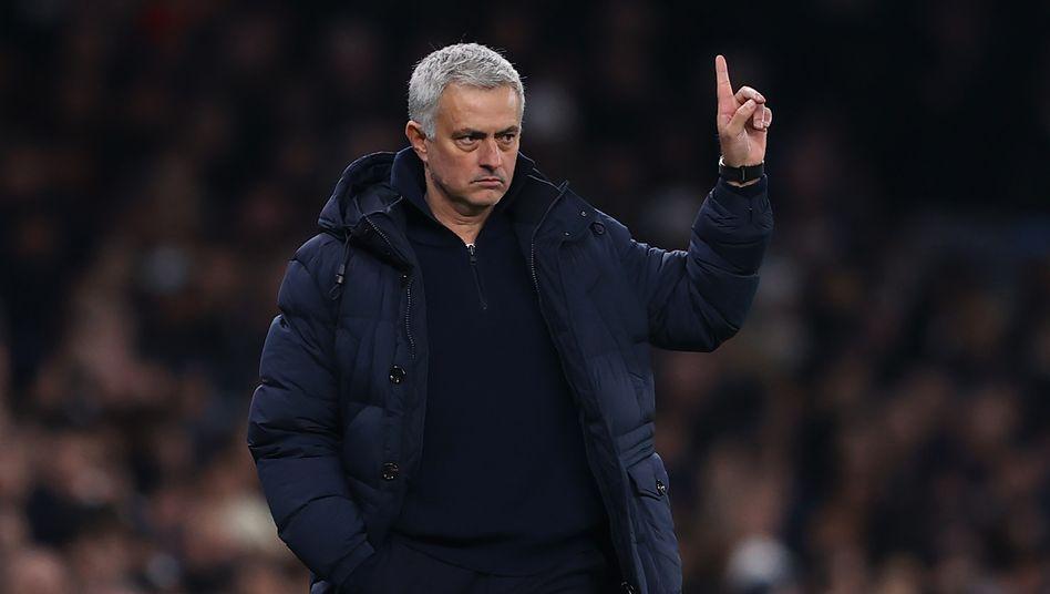 Tottenham-Trainer José Mourinho