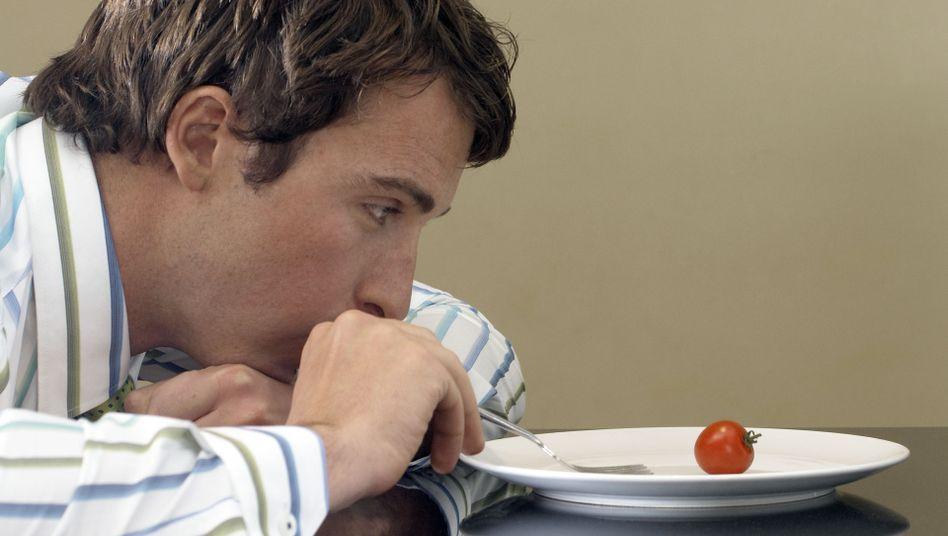 Verzicht auch auf Tomaten: Beim Fasten gibt es eine Woche lang nur Tee, Honig und Säfte