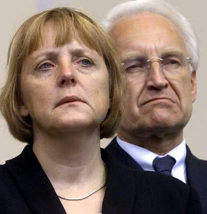 """Angela Merkel und Edmund Stoiber wollen am Freitag das """"Sofortprogramm"""" vorstellen"""