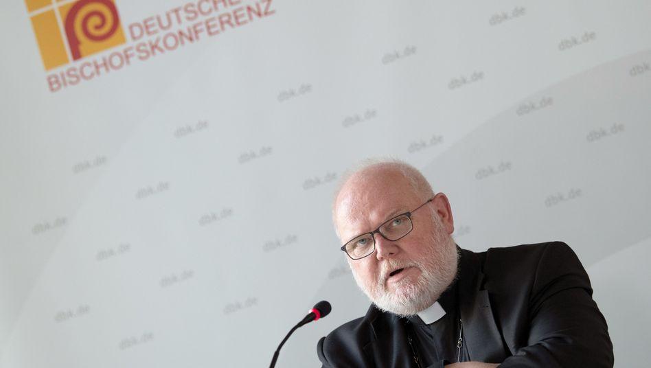 """""""Da brauchen Sie nicht weiter zu spekulieren"""": Reinhard Marx, Noch-Vorsitzender der Deutschen Bischofskonferenz"""