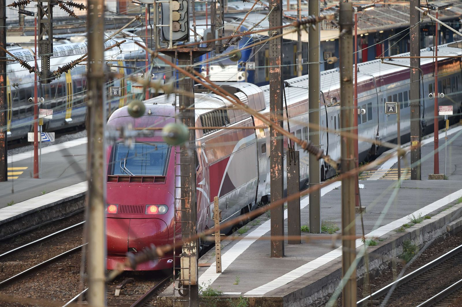 FRANCE-NETHERLANDS-ATTACK-CRIME-TRANSPORT-POLICE-RAIL Thalys