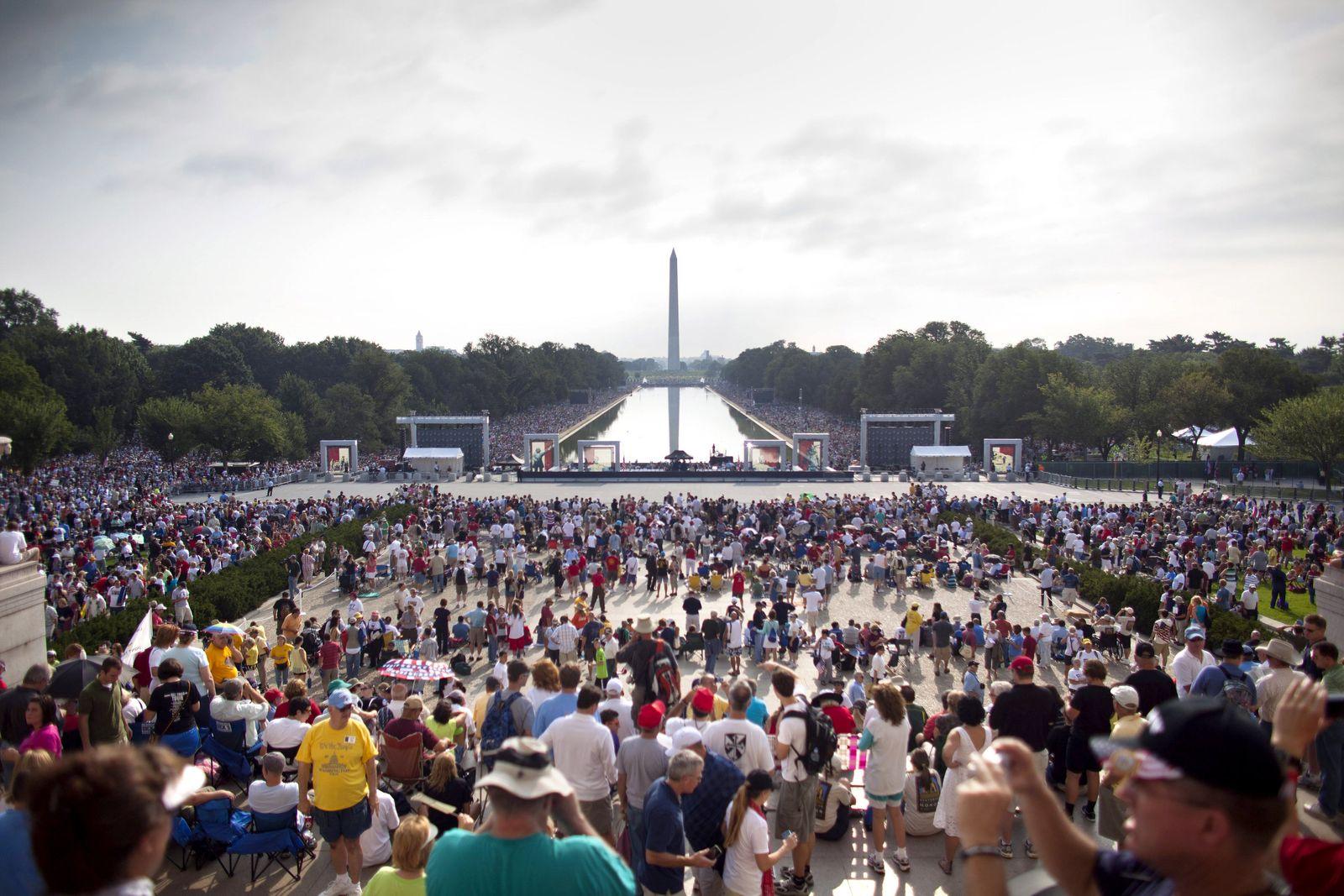 Demo in Washington - Rechte macht gegen Obama mobil