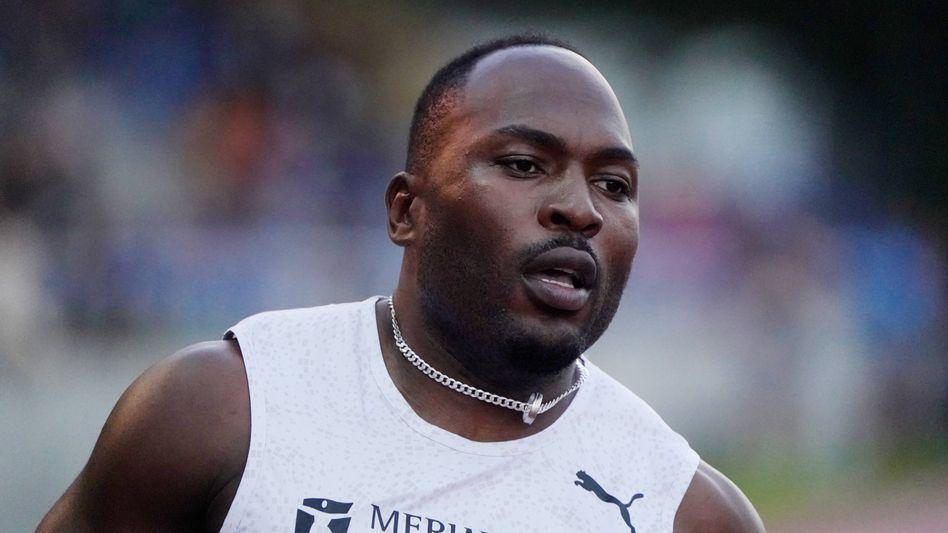 Sprinter Alex Wilson