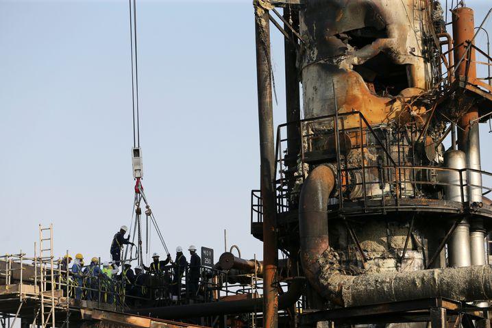Repair work at Abqaiq began almost immediately.