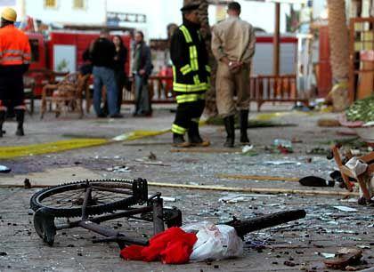 Zerstörung in Dahab: Unter den Opfern sind viele Touristen