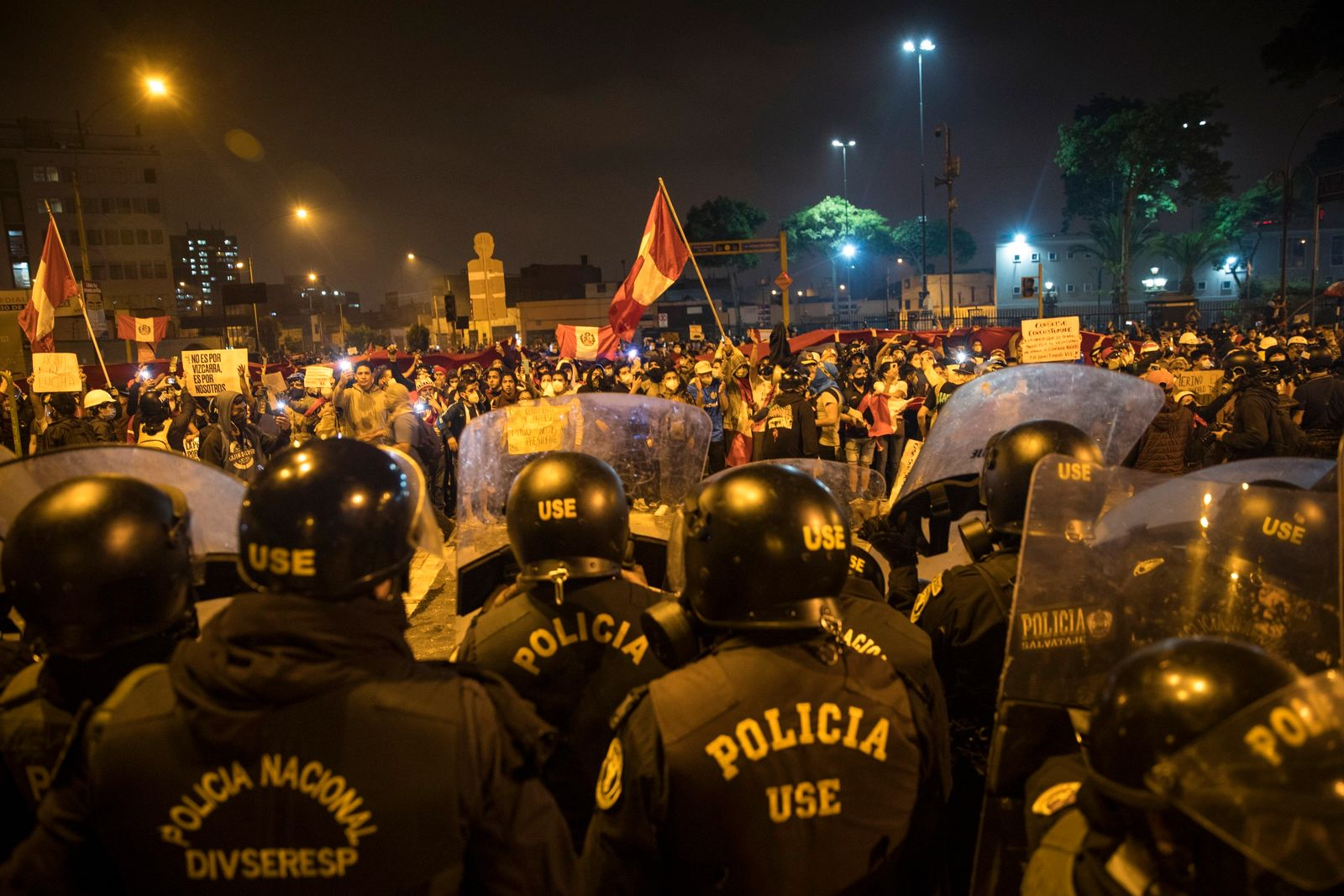 Protest in Peru