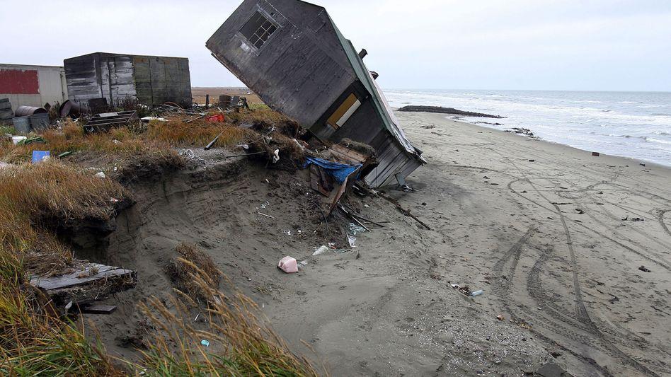 Schäden durch Küstenerosion im US-Bundesstaat Alaska (Archivbild)