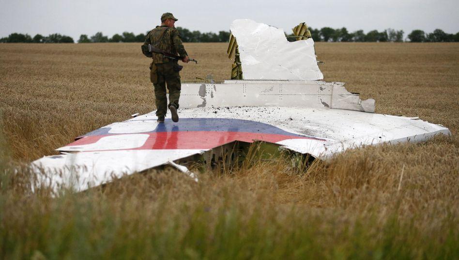 """Wrackteil von Flug MH17: """"Es war eine Buk"""""""
