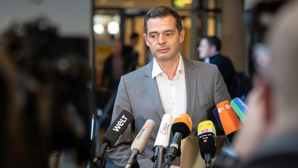Mike Mohring tritt im März als CDU-Fraktionschef in Thüringen ab, vorher erhöht er noch mal den Druck auf die Bundes-CDU