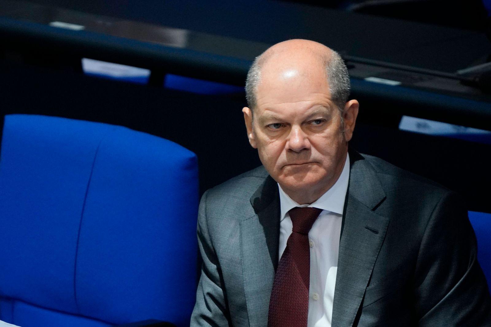 179. Sitzung des Deutschen Bundestages mit der Haushaltsdebatte in Berlin Aktuell, 30.09.2020, Berlin Olaf Scholz der Bu