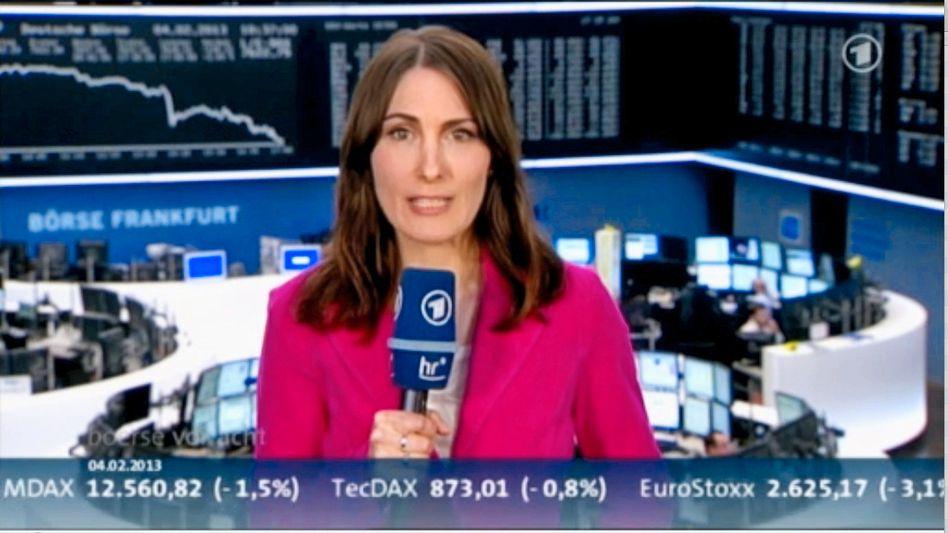 """Börse vor acht"" mit Anja Kohl (Archivbild)"