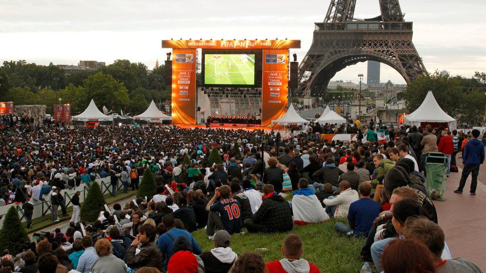 Frankreich vor dem WM-Aus: Frankreich trauert, Mexiko feiert