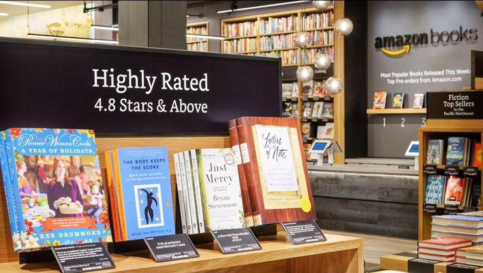 Amazon-Buchhandlung: In die Regale kommt, was den Onlinekunden gefällt