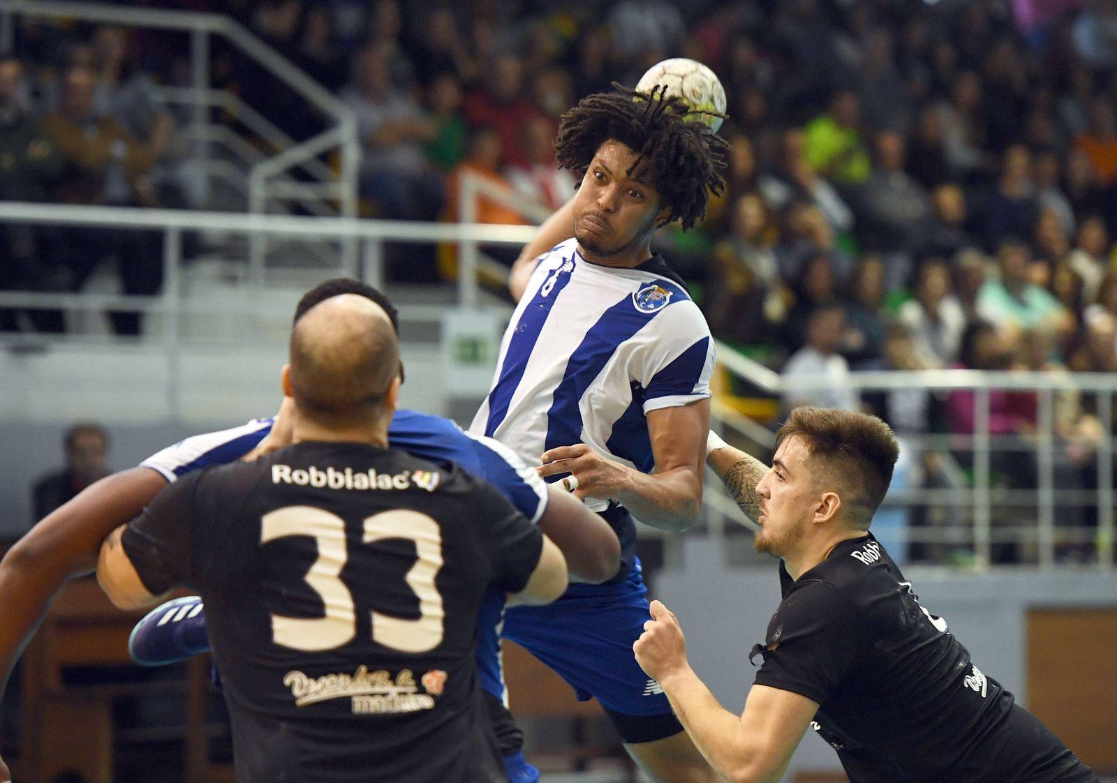 Madeira SAD FC Porto Funchal 28 03 2018 Handball National final phase match 2 of anticipate
