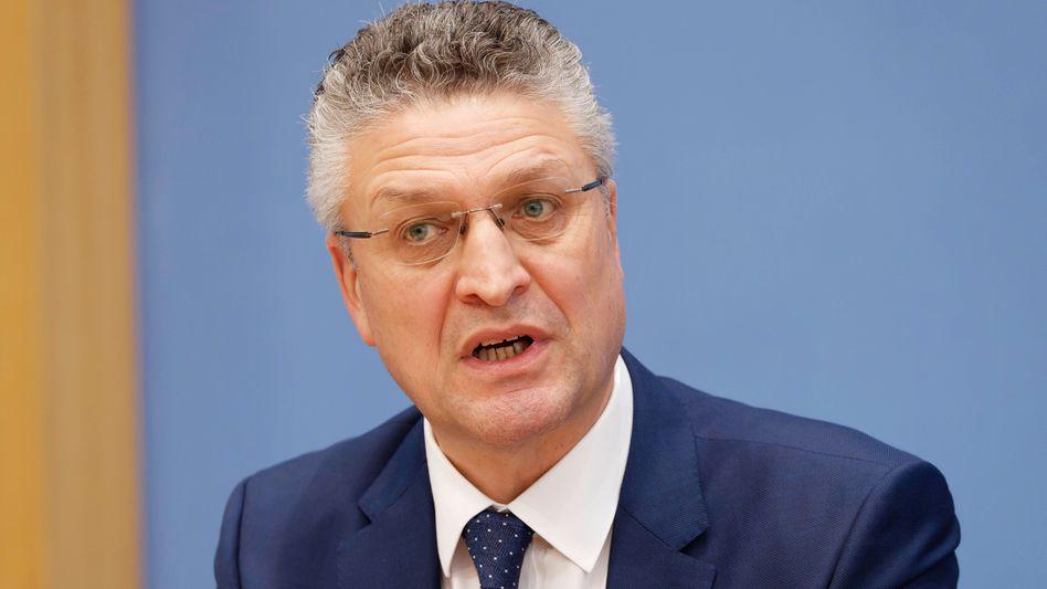 RKI-Präsident Lothar Wieler