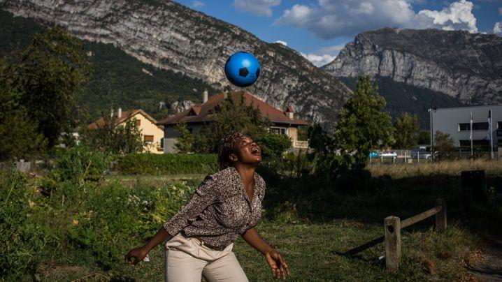 """Einwanderer aus Afrika: """"Mein Sohn wird eine bessere Zukunft haben als ich"""""""