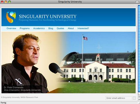 Screenshot: Singularity-Mitgründer Peter Diamandis