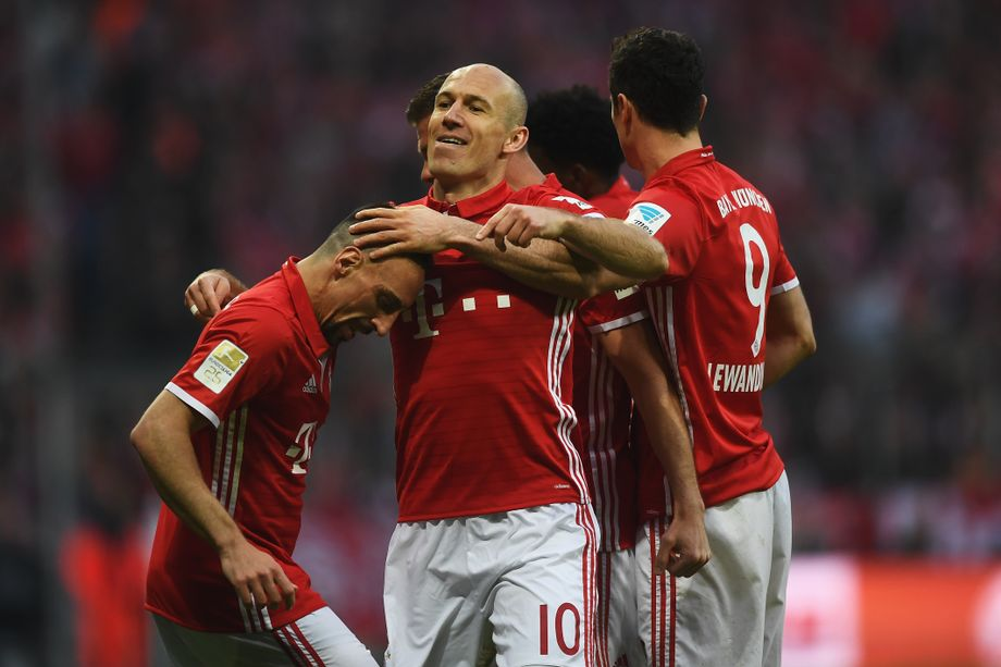 Torjägerliste Bundesliga 15/16