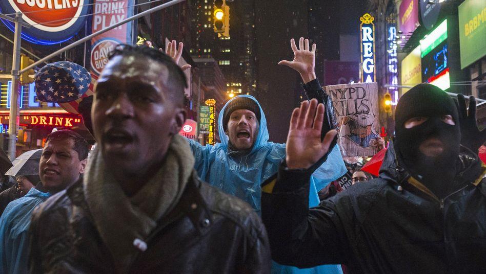 US-Proteste gegen Polizeigewalt: Der Zorn wächst