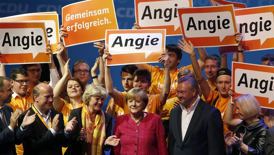 """Sunday's vote makes it clear that Germany firmly belongs to """"Angie."""""""