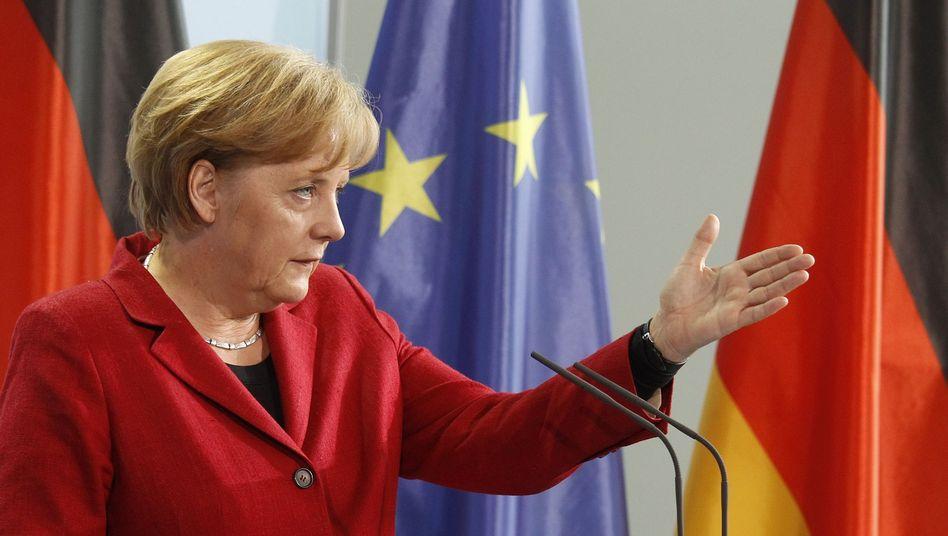 """Kanzlerin Angela Merkel: Entscheidung ist eine """"Ultima Ratio, eine Notlösung"""""""