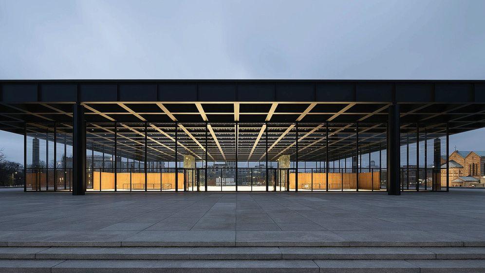 Neue Nationalgalerie in Berlin: Eher ein Denkmal für den Baumeister selbst als ein Ort für die bildende Kunst