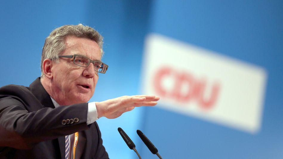 """Innenminister de Maizière: """"Diese Sorgen müssen wir ernst nehmen"""""""