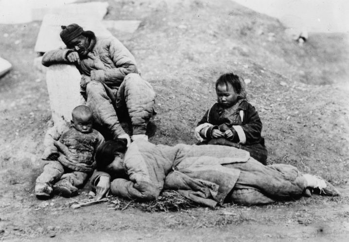 Opfer der Hungersnot 1959-61