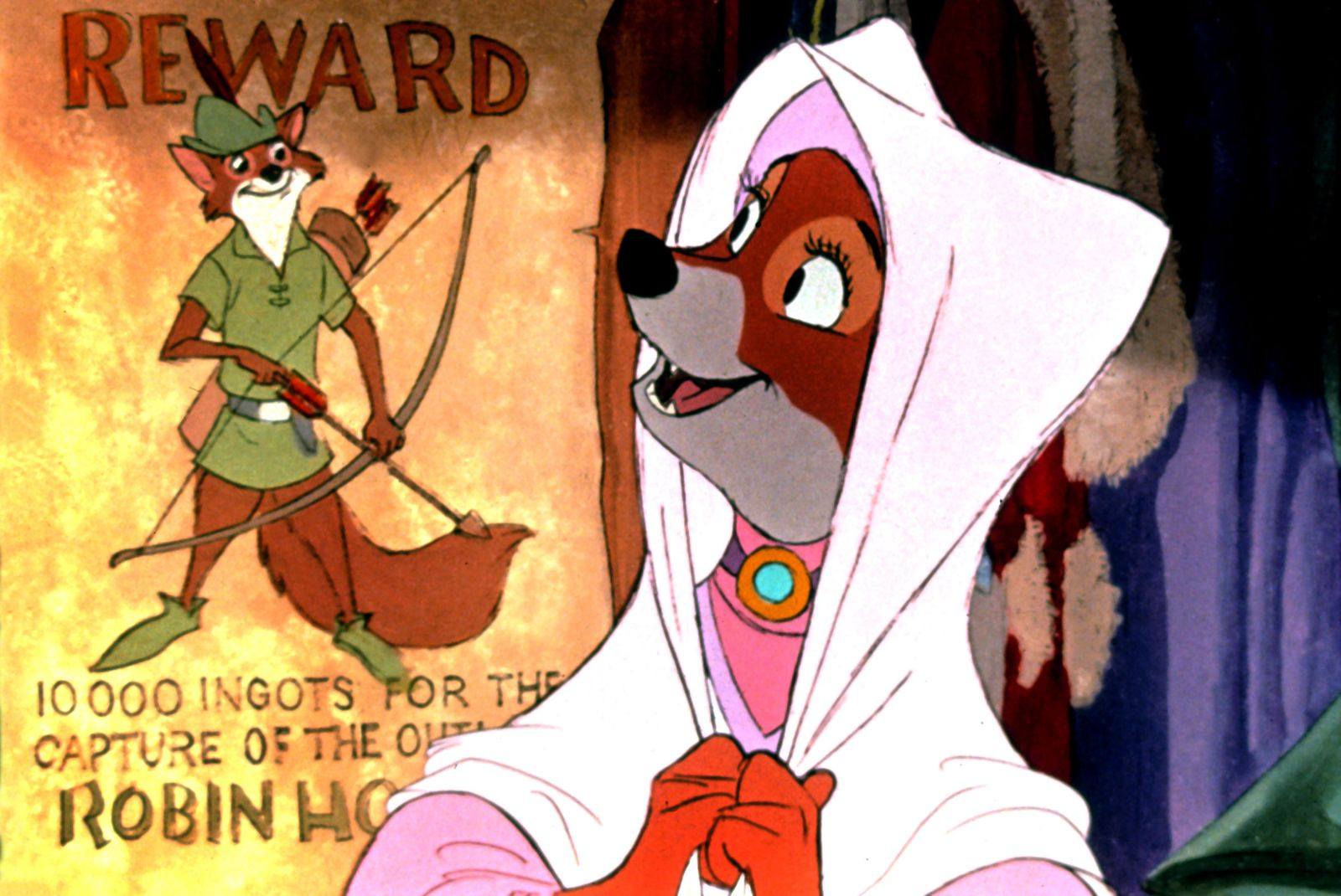 Robin des Bois Robin Hood 1973 real Wolfgang Reitherman Walt Disney COLLECTION CHRISTOPHEL